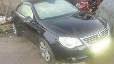 2008 VW EOS 2.0 TSI BWA, BLACK L041, 6 SPEED GEARBOX, WHEEL BOLTS, BREAKING