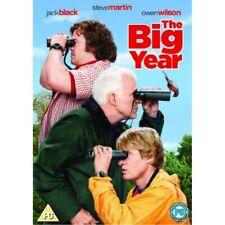 The Big Year DVD 2011 by Jack Black Steve Martin Ben Stiller.