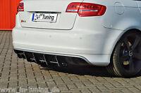 Sonderaktion Heckansatz Heckeinsatz Diffusor aus ABS für Audi RS3 8P Sportback
