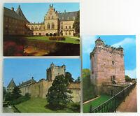 Postkarten Lot 3x AK BAD BENTHEIM Schloss Burg Pulverturm Ansichtskarten ungel.