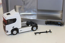 Herpa 307642 Scania CR 20 ND Zugmaschine 1 blanc:87 H0 neuf emballage d'origine