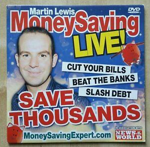 Martin Lewis Money Saving Live Promo DVD