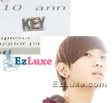 K-POP Korean Band DBSK sinnger drama SHINee KEY Name Letter Font Earring