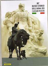 folder postale 2017 - 80° museo storico dell'arma dei carabinieri -