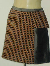 Cue Viscose Geometric Skirts for Women