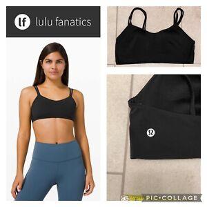 Lululemon Size 10 Like a Cloud Sports Bra Black Perfect!