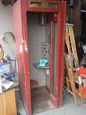 Vintage 1940's Type 11 WoodenTelephone Phone Booth Rare