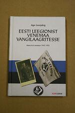 From Estonian Legion To Prison Camp Book WW2 Estonian waffen ss 20 th division