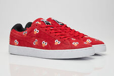 PUMA X Sesame Street Mens Red Suede Lace up SNEAKERS Shoes 11