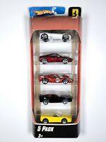 Hot Wheels Ferrari 5 Pack #L8243 (2007) | RARE International Release | Unopened