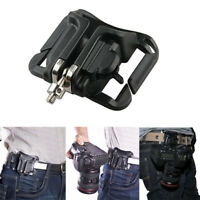 Fast Loading Holster Hanger Waist Belt Buckle Holder Mount Clip for Camera DSLR