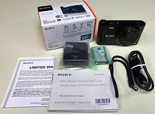 Sony Cyber-shot DSC-WX350 18.2MP Digital Camera Black 20x Optical Zoom