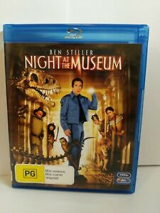 Night At The Museum Blu Ray Like New Condition Rated PG Ben Stiller Movie Comedy