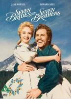 SEVEN BRIDES FOR SEVEN BROTHERS JANE POWELL HOWARD KEEL WARNER UK DVD NEW