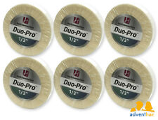 """WALKER Duo-Pro Hair Extensions Tape Roll 1/3"""" x 6 yards wig hairpiece - 6 rolls"""
