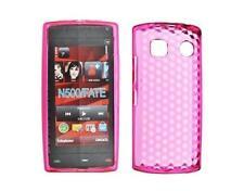 Housse Etui Coque Silicone Gel Rose Diamand ~ Nokia 500