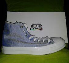 Converse Chuck Taylor All Star CTAS 70 BLANK CANVAS $200 Blue Sz Men's 8 156270C