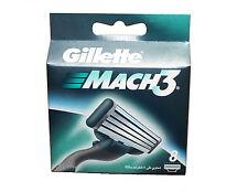 8er Gillette Mach 3 Rasierklingen Set - 8 Stück Gilette Gillete Mach3 NEU OVP
