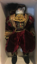 Dilliards Trimmings 9� Porcelain Prince Cat Doll Mib (Early 2000s)