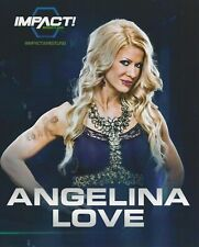 Angelina Love Official 8x10 Promo Photo Impact Pro Wrestling TNA ROH The Allure