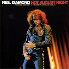 NEIL DIAMOND - HOT AUGUST NIGHT (REMASTERED)  2 CD  25 TRACKS AMERICAN POP  NEW+