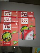 Math in Focus, 2A, Set of 6 Support Items. Great for Home Schoolers and Parents