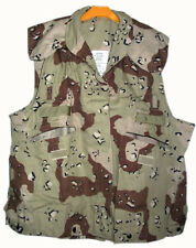 US ARMY COVER PASGT VEST DESERT  6-color camo Small/Medium Made in USA