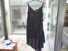 Eva Blue Womens Petite Black Dress Size 20 W Petite **$99.99** New With Tags