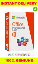 Microsoft Office 2016 Professional Plus 🔥Genuine Key ✔️Fast Instant Delivery✅