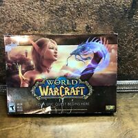 Vintage WORLD of WARCRAFT PC Big Box GAME WIN MAC~ Sealed Blizzard