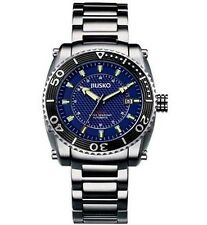 JIUSKO Deep Sea Series Men's Automatic Stainless Steel 200m Dive Watch 39LSB08