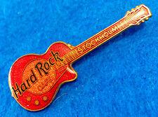 STOCKHOLM SWEDEN FC PARRY RED SPARKLE GIBSON LES PAUL GUITAR Hard Rock Cafe PIN