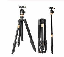 Q666BS Professional Portable Travel Camera Tripod Monopod DSLR Stand w/Ball Head