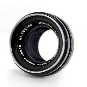 Nippon Kogaku Nikkor-H.C 5cm 50mm F/2 Lens for Nikon S Mount from Japan