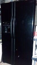 Kenmore side-by-side fridge black