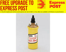 Accel SuperStock Ignition Coil Suit Electronic ignition, Yellow, Round canister