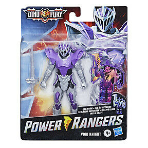 Hasbro Power Rangers Dino Fury Void Knight Ranger 6-Inch-scale Action Figure Toy