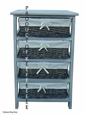 4 Stylish Wicker Drawers Cabinet **QUICK SALE** PRICE DROP