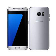 Samsung Galaxy S7 edge SM-G935F (aktuellstes Modell) - 32GB - Silver Titanium (Ohne Simlock) Smartphone