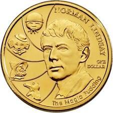 2008 Norman Lindsay Australian $1 Uncirculated Coin ex Mint Set SCARCE