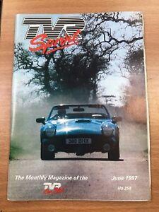 TVR Car Club Sprint Magazine June 1997 Issue No 258 S3