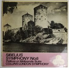 SIBELIUS SYMPHONY No. 6 Anthony Collins The London Symphony Orchestra ACL 228 LP