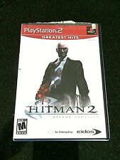 PS2 Games Hitman 2 Silent Assassin Greatest Hits Sony PlayStation Game Video ps