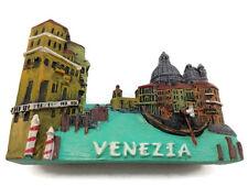 Gondola, ITALY VENEZIA SOUVENIR RESIN 3D FRIDGE MAGNET SOUVENIR TOURIST GIFT
