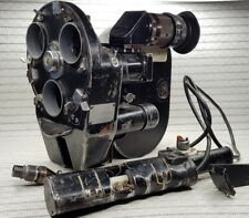 35mm soviet movie camera Konvas KSR KCP 1M motor viewfinder 3 Magazines