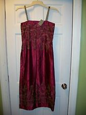 NWT Urban Outfitter Mimi Chica Summer T Strape Dress Size 5 Embroided Print