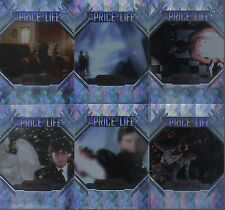 SMALLVILLE SEASON 5 COMPLETE SET OF 6 PRICE OF LIFE CARDS