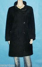 manteau SESSUN noir Taille : XL TRES BON ETAT