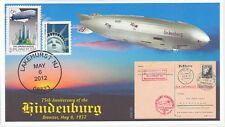 JVC CACHETS -75th ANNIVERSARY HINDENBURG DISASTER ZEPPELIN AIRSHIP EVENT COVER 2