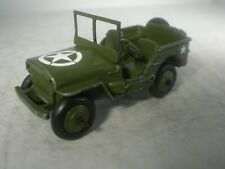 Dinky Toys Military Army #153a Jeep EXCELLENT